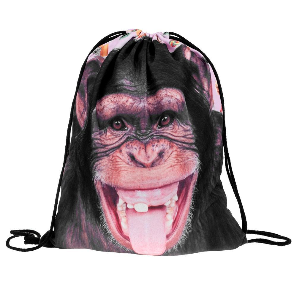 2019 Bag Pull Rope Female Bag 3D Digital Print Bouquet Pocket Double  Shoulder 3D Backpack  xqx From Faaa,  35.65   DHgate.Com e130ca558d1