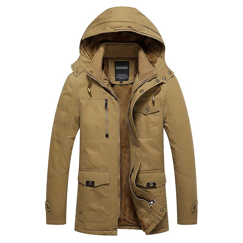 435ecdae160a Wholesale 2018 Pocket Decoration Designer Jacket Cashmere Thickening Mens  Designer Winter Coats Youthful Popularity Personality Windbreaker Faux Fur  Jackets ...