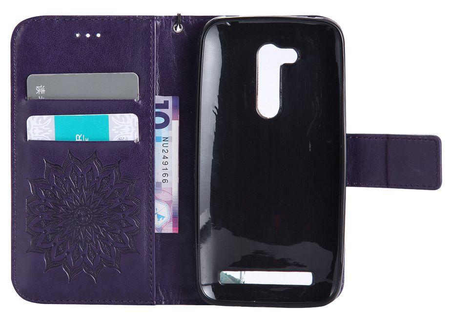 Handytaschen für ASUS ZenFone ZB452KG ZB551KL ZD552KL GO 4 Selfie Pro Fall Flip Abdeckung Luxus Leder Sonnenblume