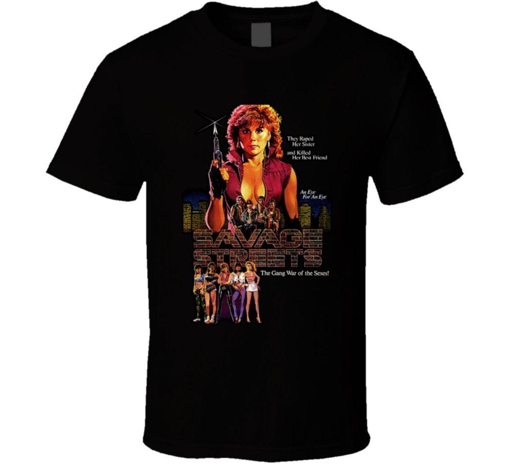 Savage Streets Cult Movie T Shirt Ladies T Shirts Shirts Design From  Futuretshirts, $13.19| DHgate.Com