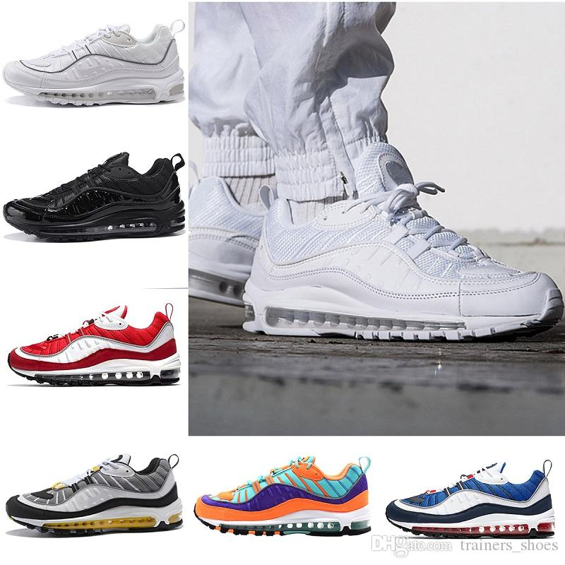98 95 Running Shoes Mens casual Sneakers Ladies 98S ultraboost Outdoor Athletic Hiking Walking Shoes Blue Red Black Size 5-11 prices for sale sale big discount cheap sale reliable cheap sale wiki 4zzh5pDAv