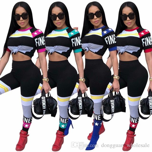 837bf5a54754 2019 Hot Popular Cool Bodysuit Women Two Piece Set Fitness Jumpsuit Hollow Rompers  Women Jumpsuit From Dongguan wholesale