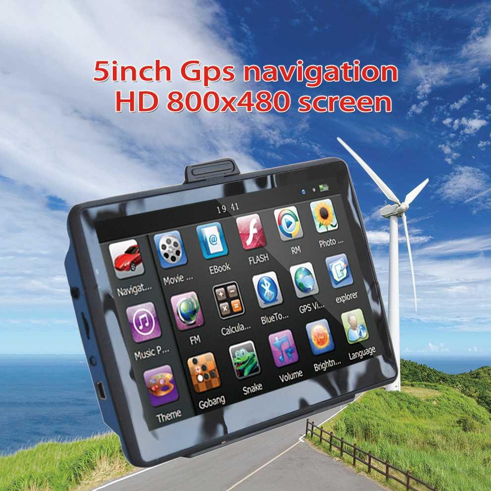 Oriana 512 5inch gps navigation 800x480 Screen ,FM,DDR128M 8GB,Russian  Czech Hebrew Polish Spanish,Navitel(RU UKR BLR)car gps