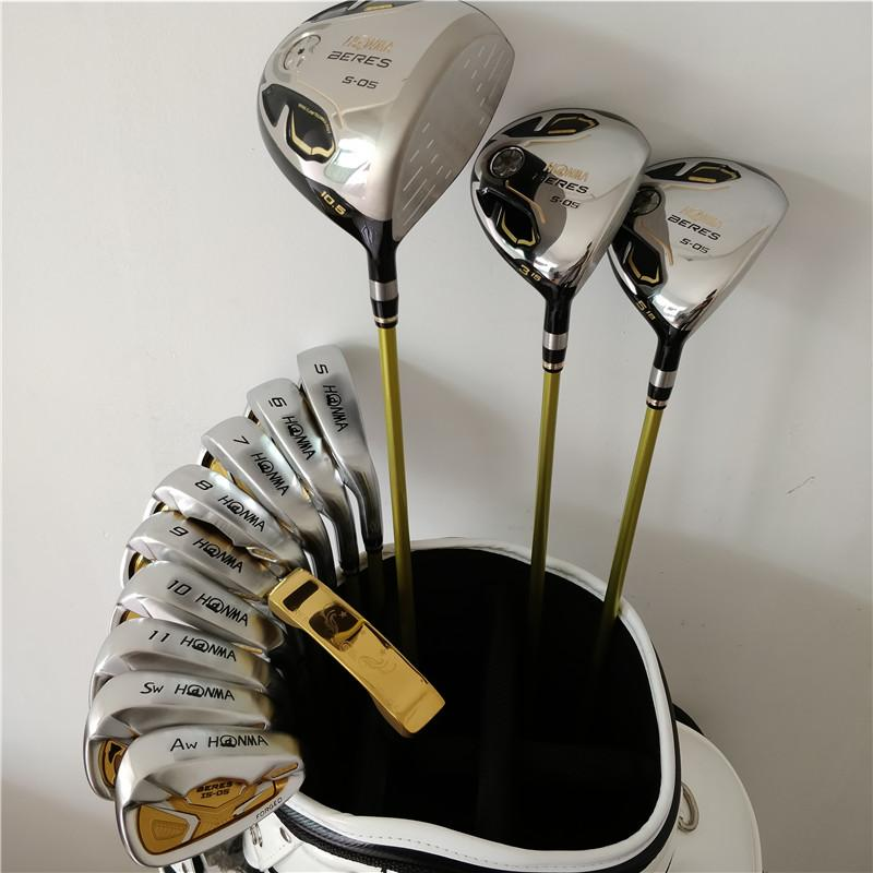 golf club beres IS-05 IS05 3 set completo golf golf uomo 4-11 A.S 10PCS driver fairway putter