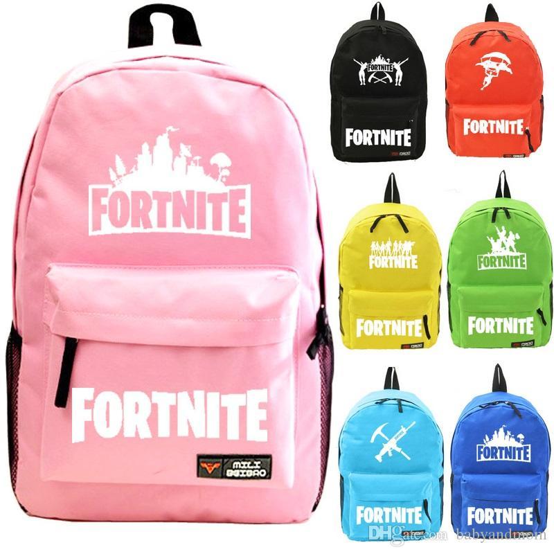 69478606ef92 42 Styles Fortnite Night Noctilucent Backpack Unisex Student School Book Bag  Shoulder Bags Travel Bag Kids Bags Fortnite Night Noctilucen Game Backpack  ...