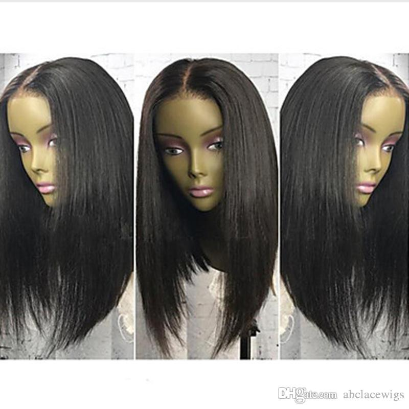 Wholesale Black Short Bob Women Human Hair Lace Wigs 130 Density Can Pemerd Full Lace Brazilian Glueless Lace Front Wigs For Black Women