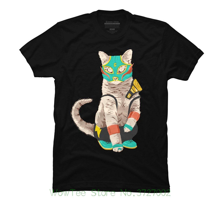 932828d1 El Gato Men's Graphic T Shirt - High Quality Custom Printed Tops Hipster Tees  T-shirt