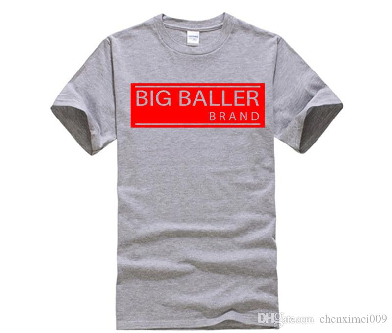 66090ab06ad 100% Cotton O Neck Customised T Shirt Hot Fashion Big Baller Brand T Shirt  Men Printing O Neck Shirt Buy T Shirts Online Funny Tee Shirts From  Chenximei009
