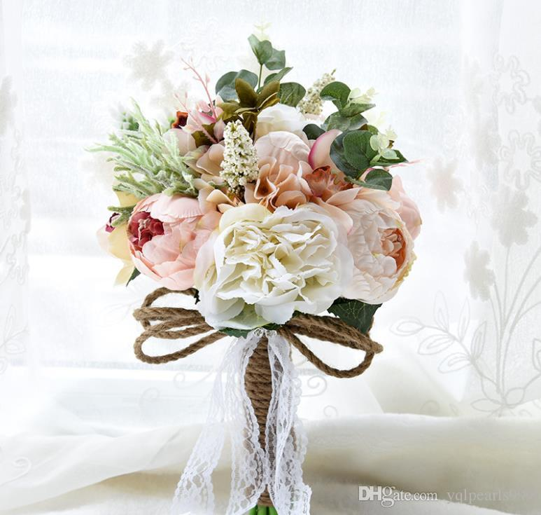Simulation Flower Wedding Gifts Gifts Articles Creative European And