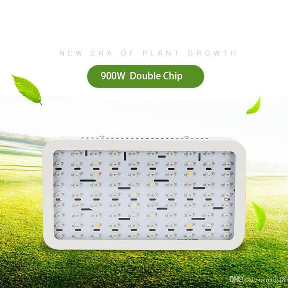 LED Büyümek Işık lambası Paneli 900 W bahçe Hidro büyüyen lamba bitki kapalı tohumlama için kapalı sera Sebze
