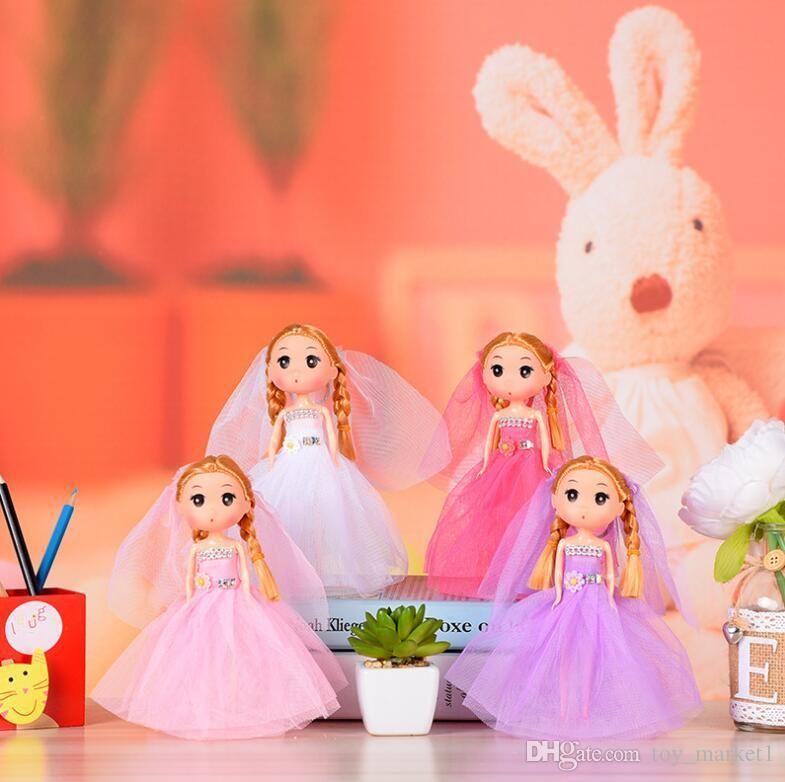 Creative Gifts 18 Cm Cute Cartoon Wedding Models Confused Doll Vinyl ...