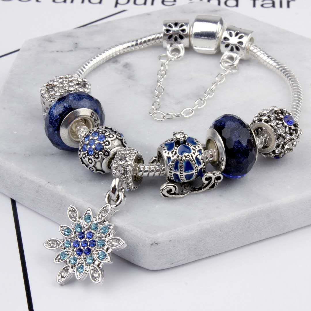 Charm Beads Fit For Pandora Jewelry 925 Silver Bracelets