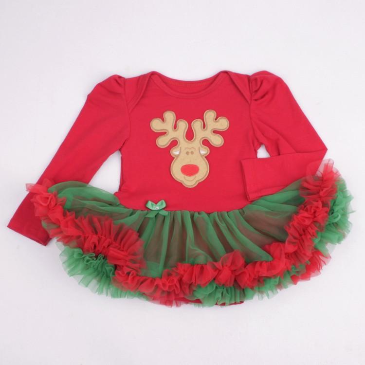 fa351bff2361 Fashion Christmas Dolls Clothes Wear Fit For 50 57cm Silicone Reborn ...