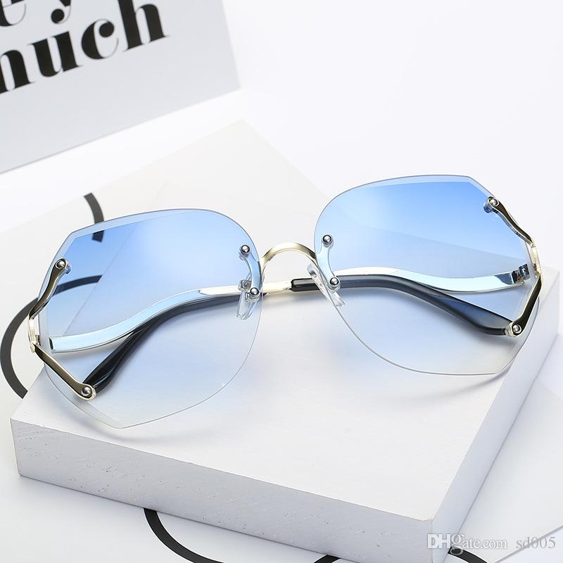 Modern Candy Color Without Frame Sun Glasses Colorful Fashion Sunglasses For Men And Women Eyeglasses Suit Many Face 13 8sx Z