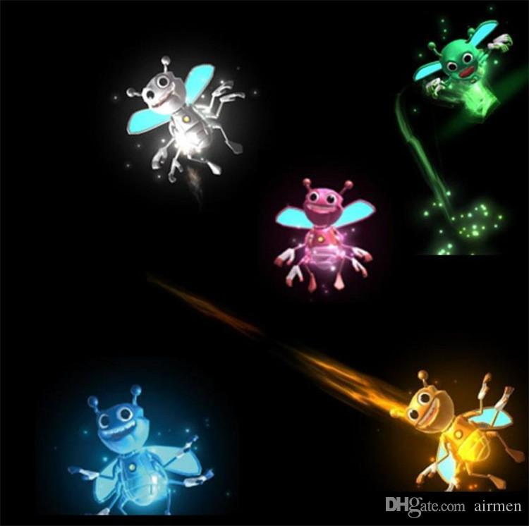 Magic Light New arrival mini bee magically flies flash Magic lights High Quality cell phone finger toy magic lights