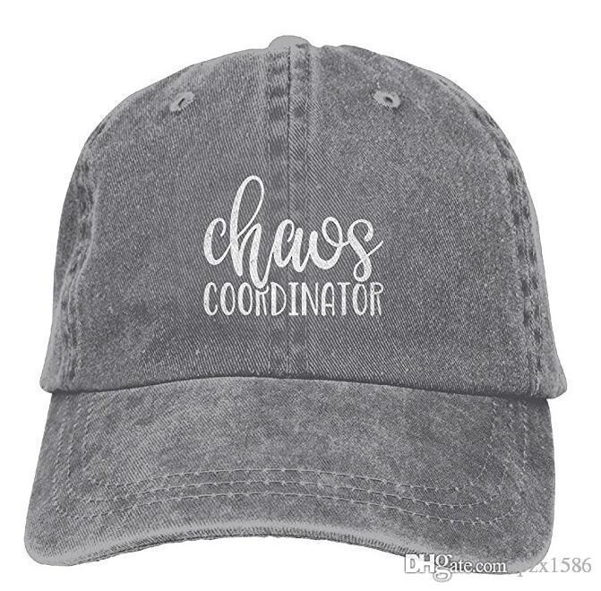 3c2575b54f2 pzx@ Chaos Coordinator Fashion Washed Denim Cotton Sport Outdoor Baseball  Hat Adjustable One Size Multi-color optional