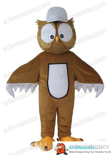 Wholesale Owl Costume Mascot Carnival Costume Birds Mascots Funny Mascot Costumes For Sale Custom Mascots Design At Arismascots Deguisement Luau Costumes ...  sc 1 st  DHgate.com : owl costumes for adults  - Germanpascual.Com