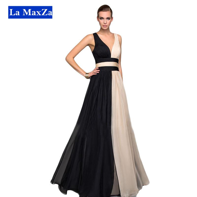 2faa4eda502 2019 Women Prom Dress Maxi Dress Sexy V Neck Backless Long Evening Dress  Wedding Party Dinner Fashion Dresses Vestidos De Fiesta Plus Size From  Jeary2012