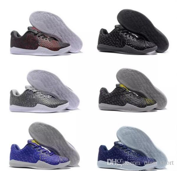 new style 08677 ece75 Großhandel 2018 Billig Verkauf Kobe 11 Mentalität 3 Sport Basketball Schuhe  Für Hohe Qualität Männer Kb 11 S 3 Mt Ash Lila Gelb Training Turnschuhe  Größe 7 ...