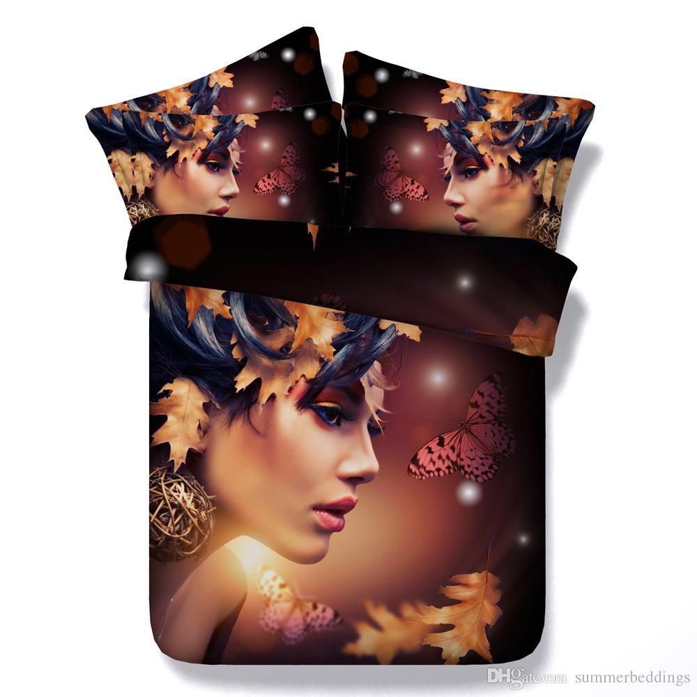 Großhandel 3d Schmetterling Bettbezug Galaxy Bettwäsche Sets