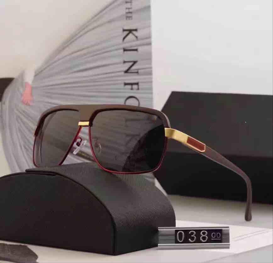 e7e2c326c4 New Brand Fashion Sunglasses Women Men Frame Designer High Quality 038 Sun  Glasses Lady Driving Shopping Eyewear Original Box Case Prescription Glasses  ...