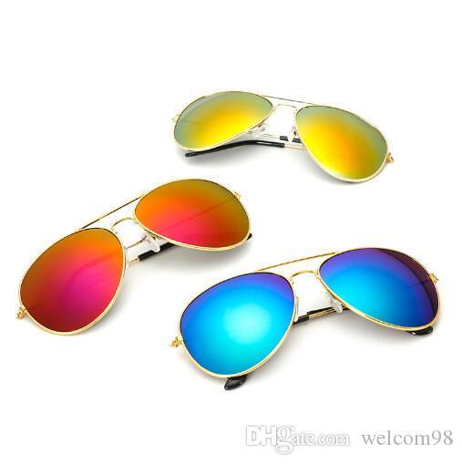 10 قطعة / الوحدة مزيج الألوان الأزياء والاكسسوارات uv حماية الشمس النظارات الشمسية للعيون هدية al025 *