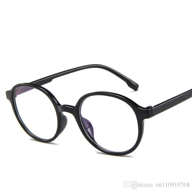 9e5a597dad2 Compre Forma Redonda Óculos De Armação Lente Clara Óculos Rosa Geléia Forma  Do Vintage De Plástico Coreano Designer CE FDA RA55 De Cn110910768
