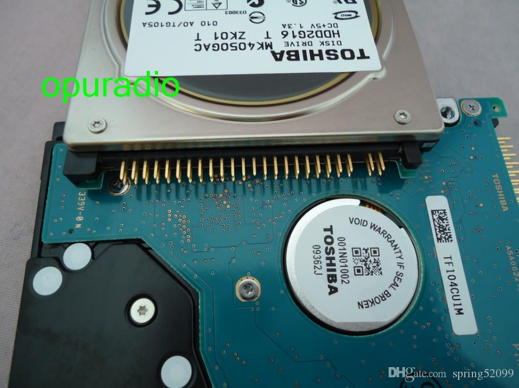 New TOSHI MK4050GAC DISK DRIVE HDD2G16 T ZH01 T DC+5V 1.3A 40GB FOR mercedes-benz car HDD navigation radio systems