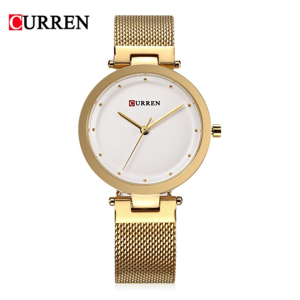 7727f661071 Compre CURREN 9005 Mulheres De Luxo Assistir Marcas Famosas De Design De  Moda Pulseira De Ouro Relógios Senhoras Mulheres Relógios De Pulso S De  Boyanghu