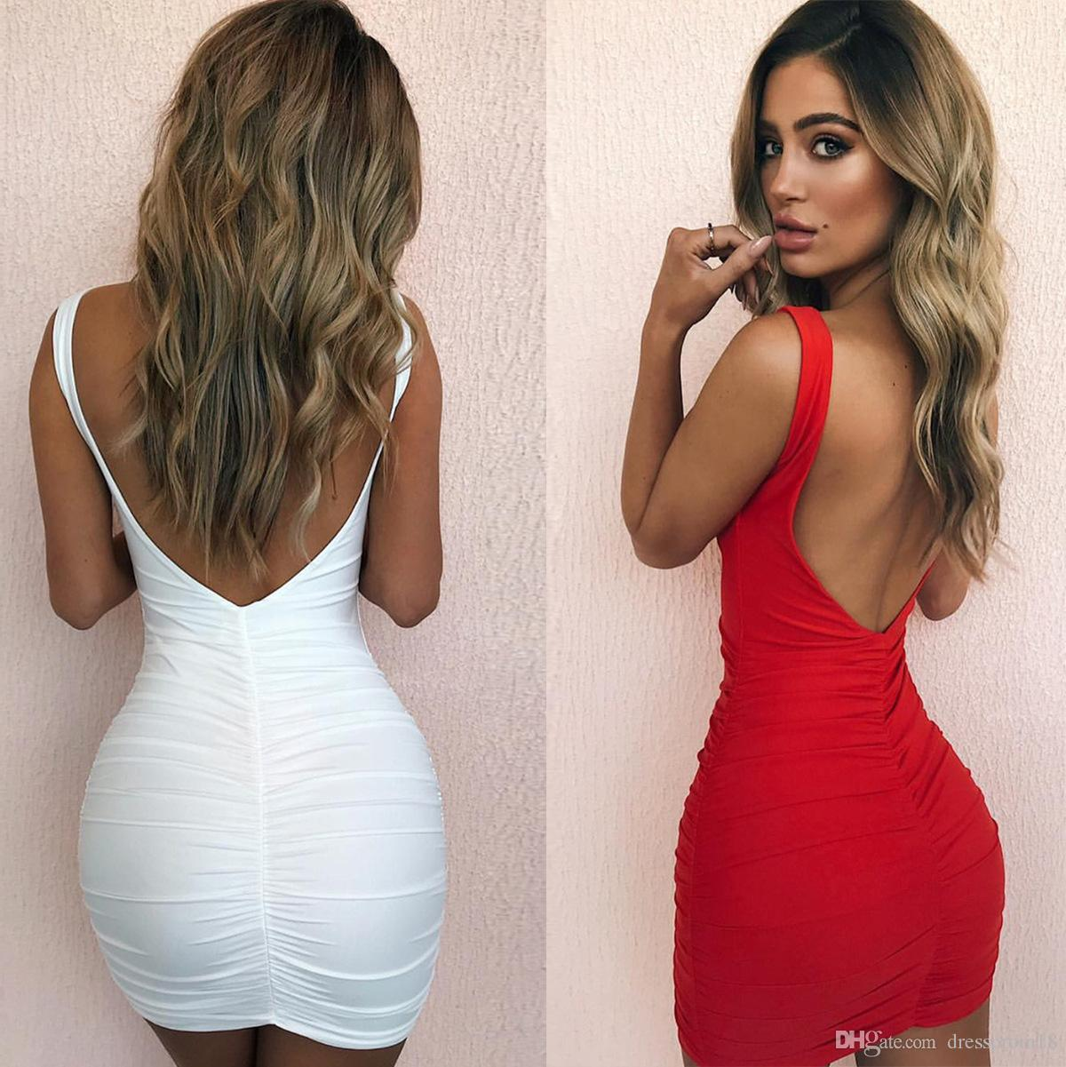 Low Backed Dresses