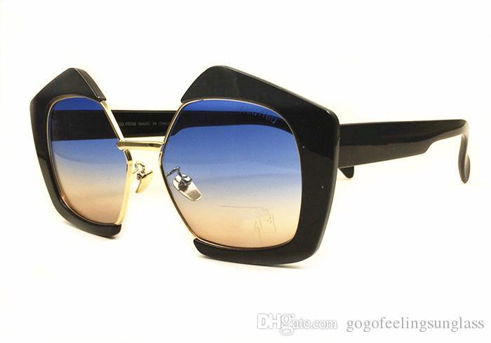 ebb70da794227 2019 Retro Thick Frame Cat Eye Sunglasses Women Ladies Brand Designer  Mirror Lens Cat Eye Sun Glasses For Female Oculos De Sol Eyeglasses  Sunglasses Hut ...