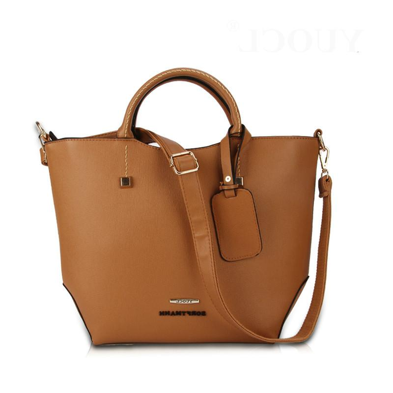 YUOCL New Designer Women Leather Handbags Fashion Vintage Messenger Women  Bag Casual High Quality Shoulder Bags Ladies Tote Bag White Handbags  Wholesale ... 0ffb3f87263b4