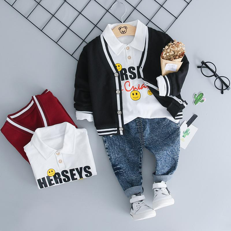 5a42c1f145ae 2018 Autumn Infant Clothing Sets Girl Boy Clothes Suits Baby Coat ...