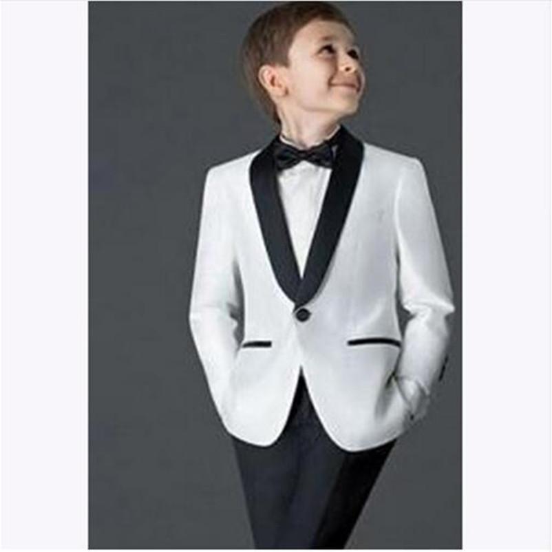 6c0a8c62f467e Acheter Costumes Pour Garçons Pour Mariages Enfants Tuxedo Combinaisons De Bal  Pour Enfants Mariage Sur Mesure Meilleur Costume De Mariage Veste +  Pantalon ...