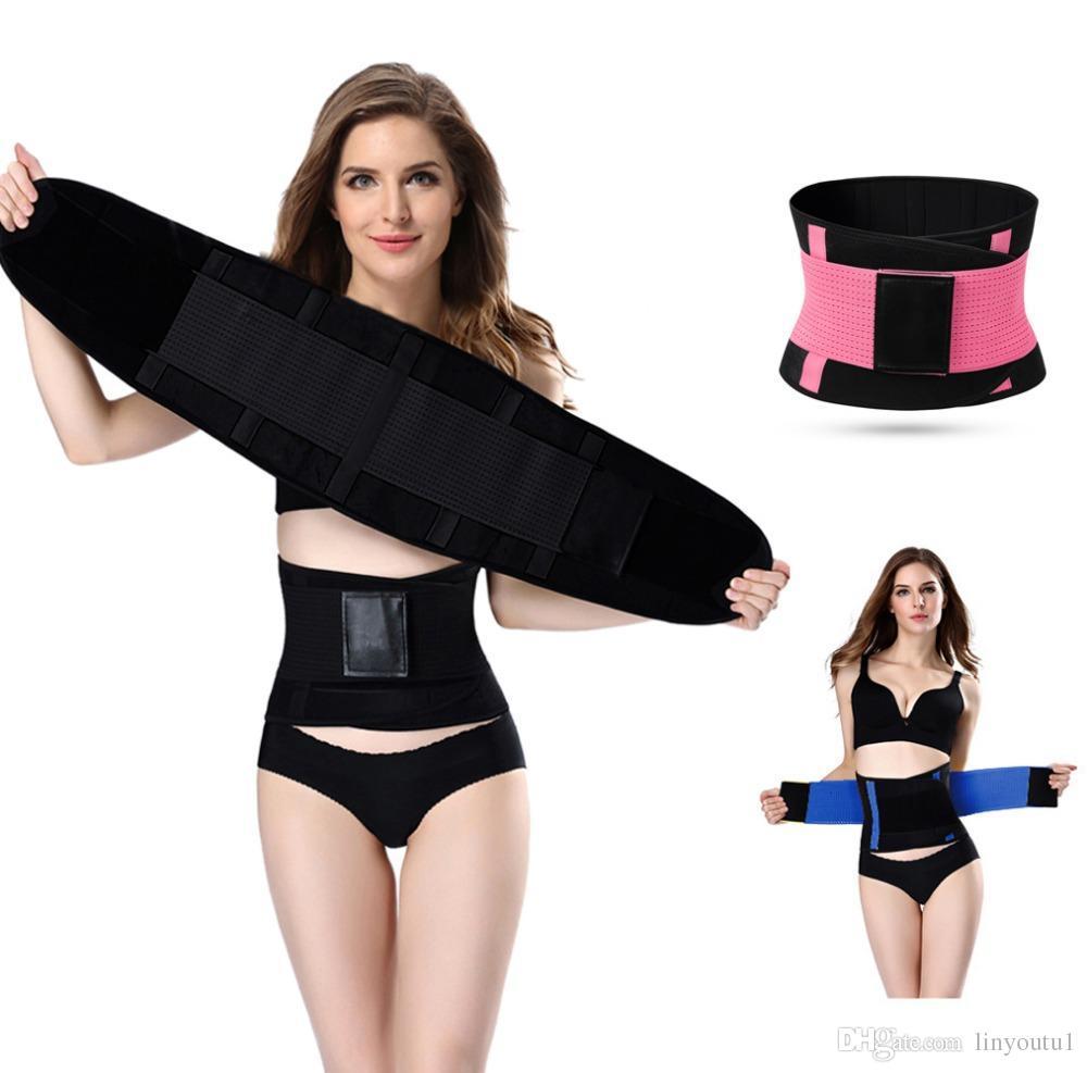 707a630988 Hot Shapers Women Slimming Body Shaper Waist Belt Girdles Firm ...