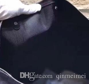 Letra Venda Quente Viagem de Alta Qualidade Famosa Bland Ombro Saco de Viagem Duffle Saco Genuíno Couro Brown Mon Mens Mens Bag
