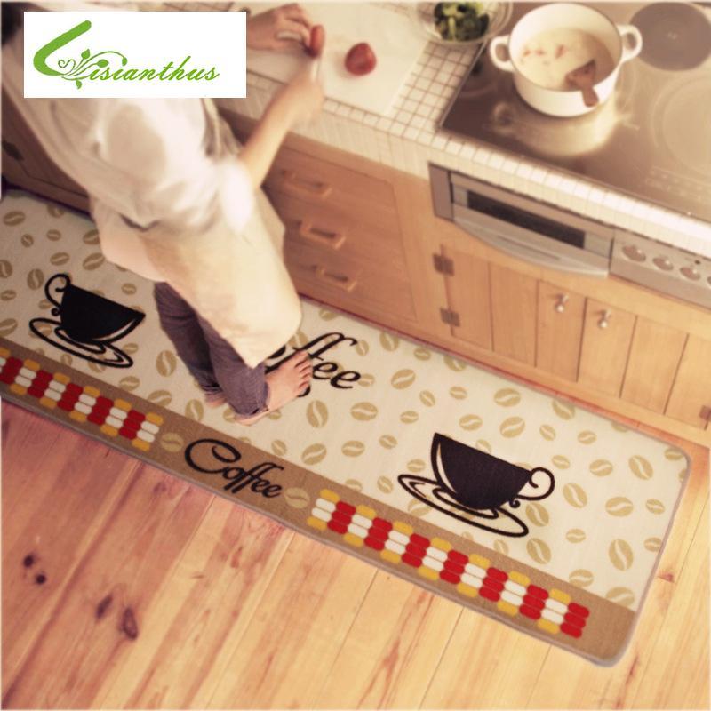 Große Szie / 1 STÜCKE Mat Fußmatte Rutschfeste Küche Teppich / Badematte  Hause Eingang Flur Flur Teppiche Küche Rutschfeste