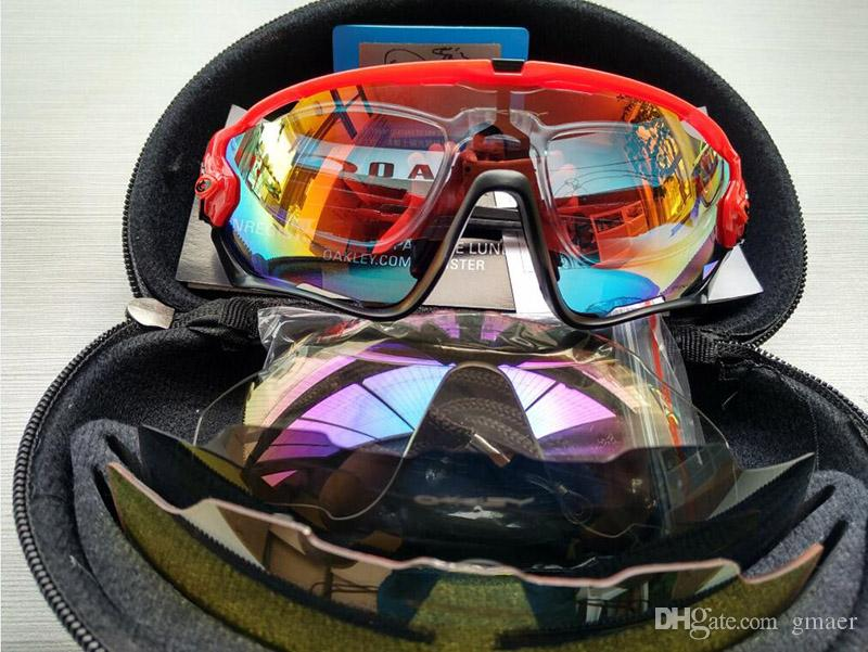 a117472729 2018 Top Quality Fashion 4 Lens Brand Polarized Jawbreaker Sunglasses For Men  Women Sport Cycling Bicycle Mens Sunglasses Sun Glasses Gogg From Gmaer