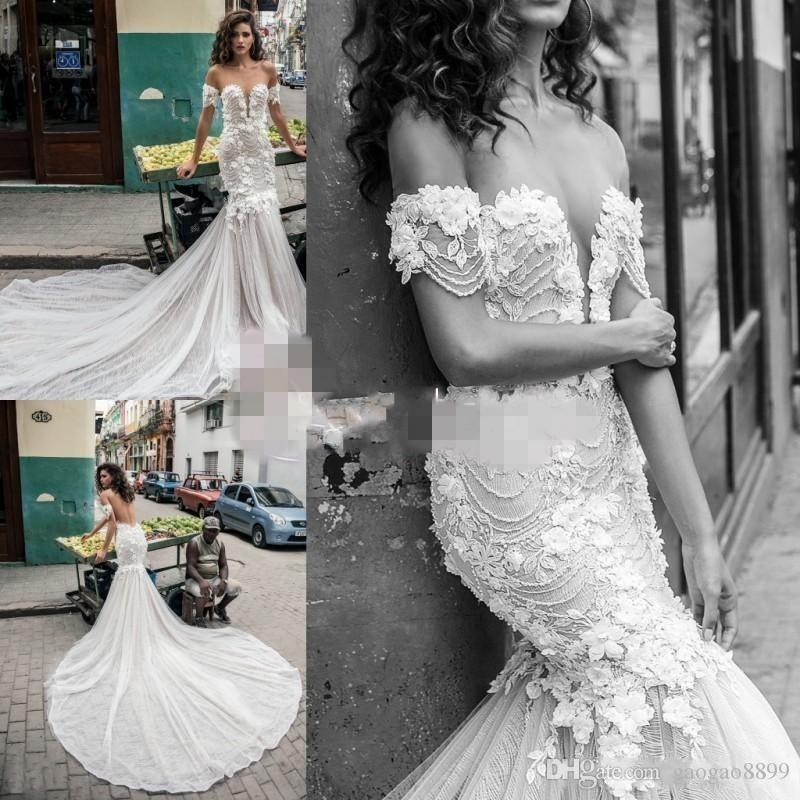 Julie Vino 2019 Mermaid Wedding Dresses Bridal Gowns With