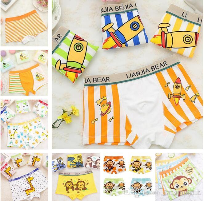 db91e82265 2018 Boys Underwear Panties Cotton Boys Boxers Children Underwear Panties  Baby Kids Clothing A Variety Of Styles From Yangminglin
