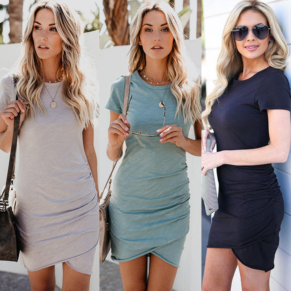 Women Bandage Bodycon Dress Casual Sleeveless Evening Party Clubwear Short  Mini Dress New Women Clothing Online with  31.91 Piece on Caicaijin08 s  Store ... 99b3d8dfc