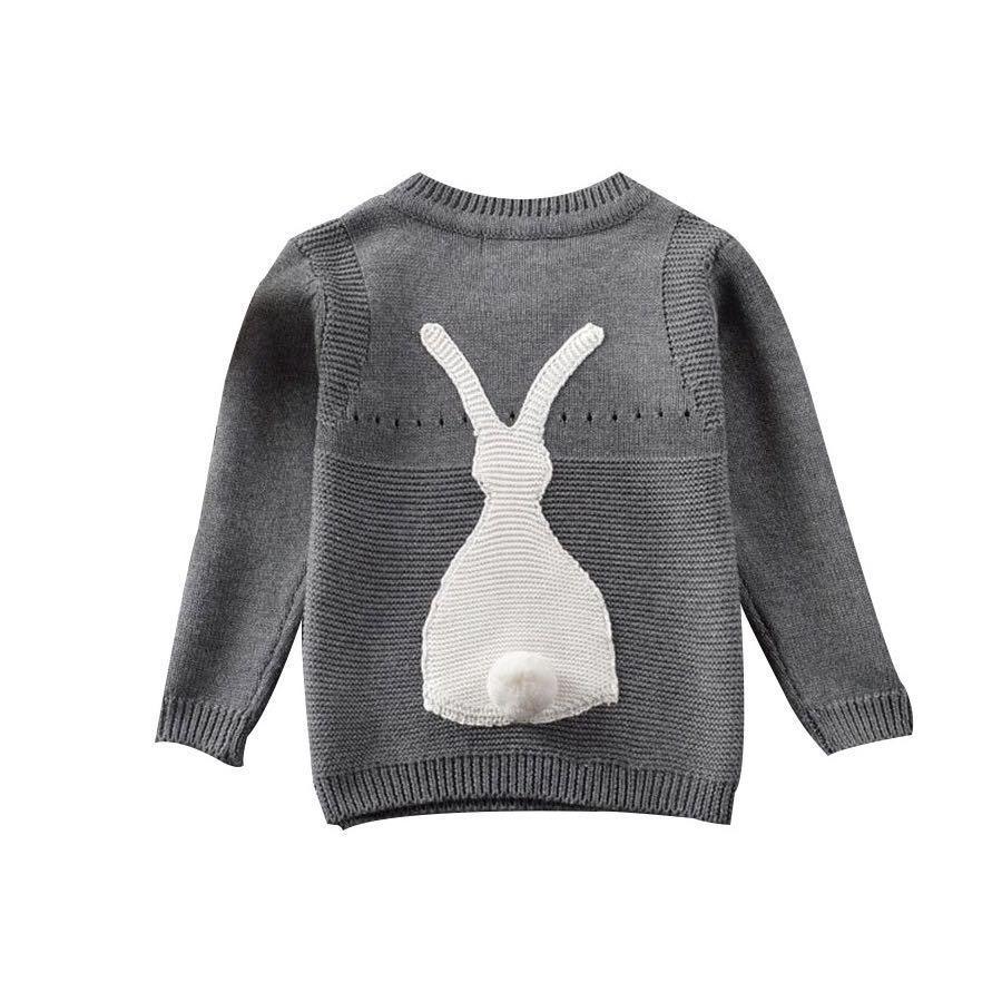 Autumn Baby Boys Girls Sweater Toddler Girls Jumper Knitwear Rabbit ...