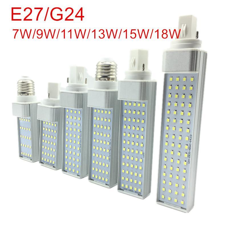 13w 18w Maïs Prise 7w 180 E27 G24 Projecteur Ampoule Ac85 Smd Ampoules Degrés D 15w 2835 Horizontale 11w Lampe De Led 9w 265v zSqVGjLUMp