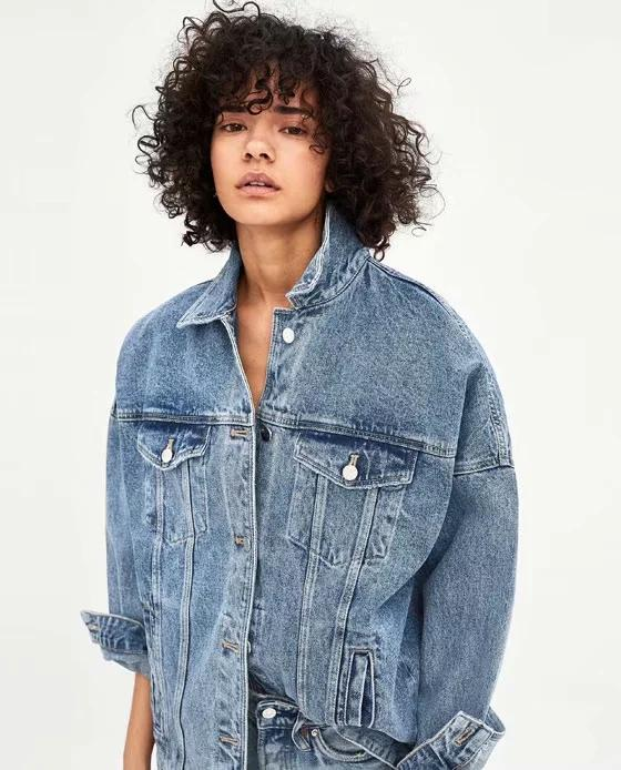 130ed891e4b Jenny Dave Denim Jacket Women Harajuku High Street Vintage Washed Oversize  Boyfriend Drop Shoulder Denim Jackets Women Plus Size Outdoor Jackets  Carhart ...