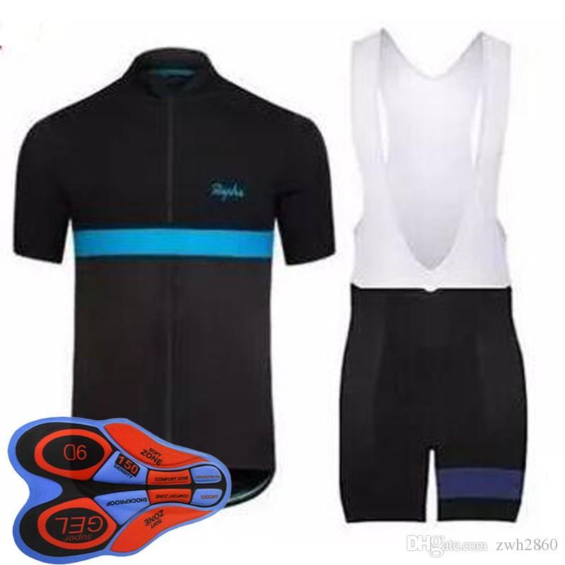 فريق رافا الدراجات قصيرة الأكمام جيرسي مريلة السراويل مجموعات الصيف ركوب الدراجات قمصان دراجة رياضية مريحة للتنفس الساخن E1805 جديد