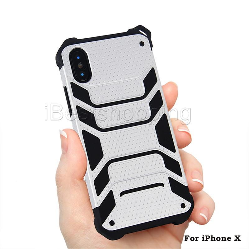 Hybrid Case 2 in 1 Robot Heavy Shockproof Tough Armor Case Cover For iPhone X Xr Xs Max 8 7 6S Plus Samsung Note 9 8 S8 S9 Plus