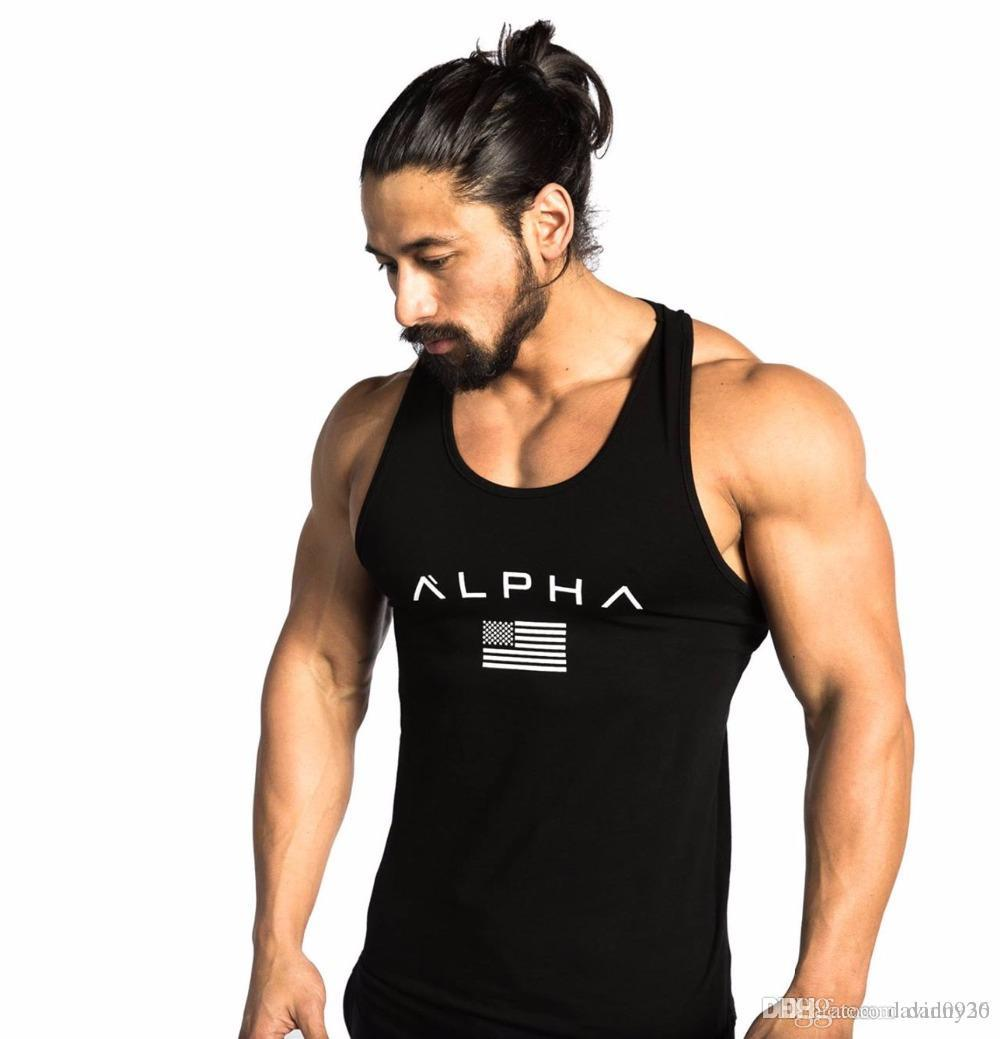8c0036567 2019 2018 Men Summer Gyms Fitness Bodybuilding Hooded Tank Top Fashion Mens  Crossfit Clothing Loose Breathable Sleeveless Shirts Vest From Danny26, ...