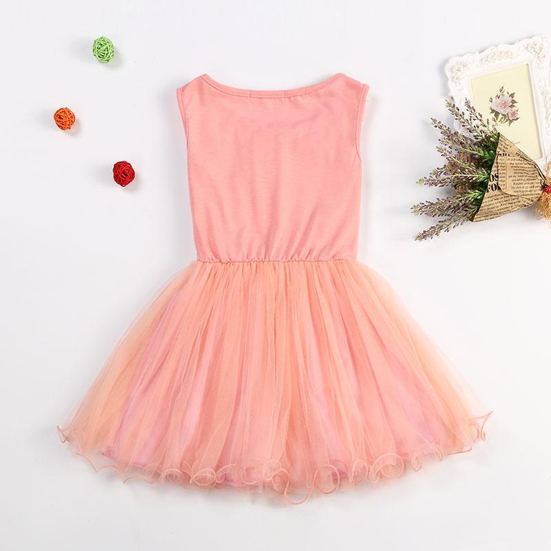 Nuovo 2017 ragazze di stile di estate si veste il vestito dal fiore del merletto l'usura di compleanno del partito Principessa Costume bambini Abbigliamento bambini le ragazze