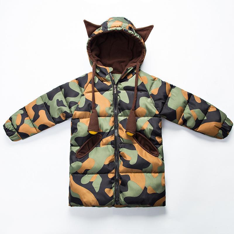 c000a3b0f Children Winter Autumn Jackets For 3 7Yrs Teenage Warm Thick Kids ...