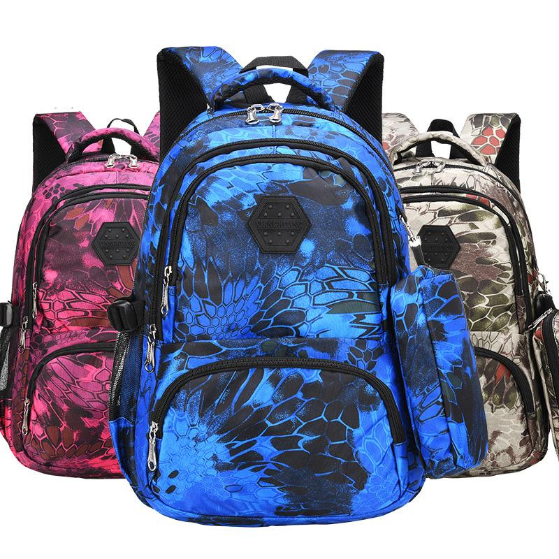 New Student School Bags Orthopedical For Boys Girl Kids Bags High ... d6af34bbf4